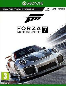 Jogo Forza 7 XBOX ONE Mídia Digital