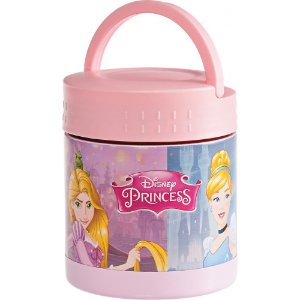 Frasco Térmico Inox com Alça Princesas Disney - Girotondo Baby