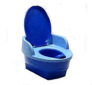 Troninho Musical 3 em 1 Azul - Love