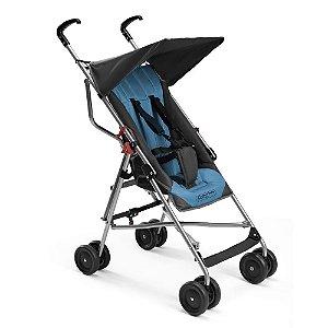 Carrinho de Bebê Passeio Pocket Azul - Multikids