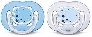 Chupeta Noturna Freeflow Double Pack 6-18 meses - Philips Avent