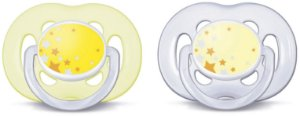 Chupeta Noturna Freeflow Double Pack 6-18 meses - Philips Avent
