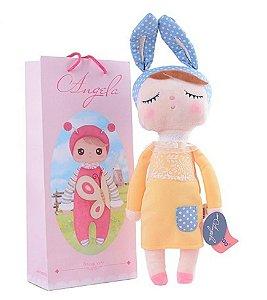 Boneca Metoo Dolls Angela Amarela 33cm