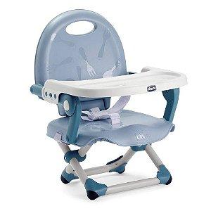 Cadeira de Alimentação Pocket Snack Blue Sky - Chicco