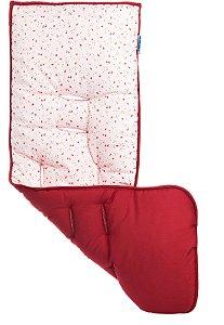 Almofada Carrinho Flores Rosa - Kababy