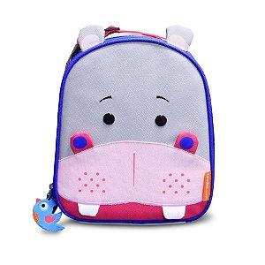 Lancheira Térmica Infantil Let's Go! Hipopótamo - Comtac Kids