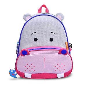 Mochila Let's Go! Hipopótamo - Comtac Kids