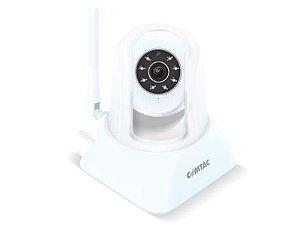 IPCam - Câmera para Monitoramento Remoto WiFi/LAN - Branca - Comtac Kids