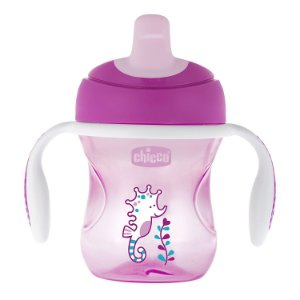 Copo Training 6m+ Rosa 200ml - Chicco
