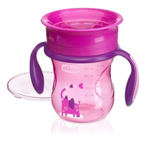 Copo 360 Perfect 12m+ Rosa 200ml - Chicco
