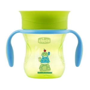 Copo 360 Perfect 12m+ Verde 200ml - Chicco