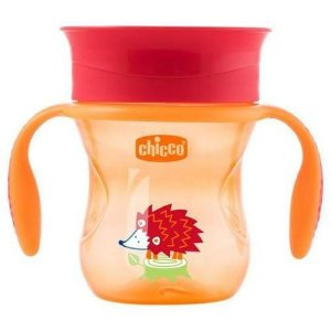 Copo 360 Perfect 12m+ Laranja 200ml - Chicco