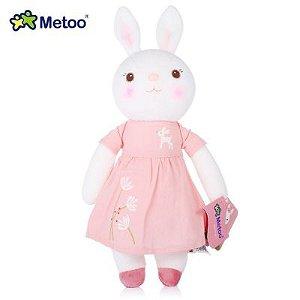 Boneca Metoo Coelho Primavera Rosa 30cm
