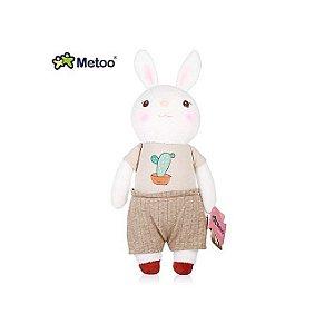 Boneco Metoo Coelho Primavera Boy 30cm