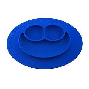 Jogo Americano de Silicone com Prato Azul - Turminha Guará
