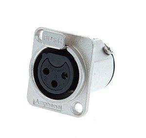 Conector XLR Amphenol AC3FDZ