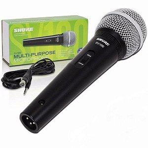 Microfone com fio de mão Shure SV100