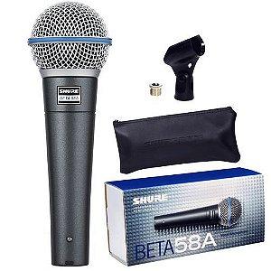 Microfone com Fio para Voz Shure Beta58A