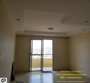 Apartamento em Campo Limpo, SP apto de 2 dormitórios, varanda e vaga coberta, aceita FGTS e financiamento.