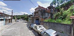 Vende-se Terreno 5,50m x 23,00m no bairro Jardim Três Marias Taboão da Serra, escriturado, pronto p/ construir, aceita troca por carro ou van