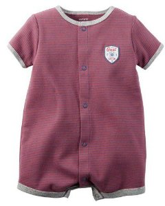 Romper listrado Little All-Star - CARTERS
