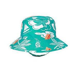 Chapéu verde e branco Tropical 6-12 meses - GYMBOREE