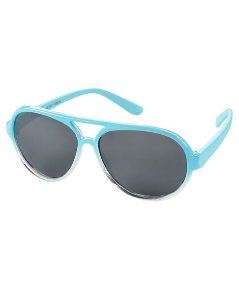 Óculos de sol Aviador azul claro 0-24 meses com proteção 100% UVA/UVB - CARTERS