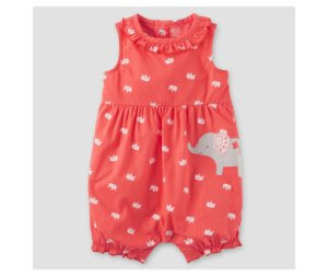 Romper Elefantinho Just one You made by CARTERS