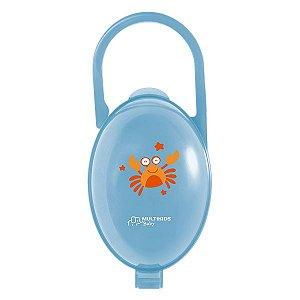Porta chupeta azul Siri Paci Clean - MULTIKIDS BABY