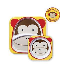Conjunto de prato e tigela Macaco - SKIP HOP