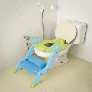 Redutor de Assento com Escada Verde e Azul - MULTIKIDS BABY