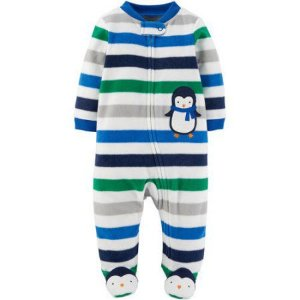 Macacão em fleece Pinguim Child of Mine made by CARTERS