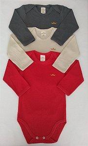 Kit body 3 peças tri color - BEST CLUB