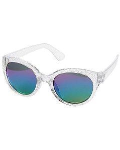 Óculos de sol 0-24 meses transparente com glitter proteção 100% UVA/UVB - CARTERS