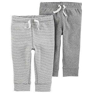Conjunto 2 calças cinza em malha - CARTERS