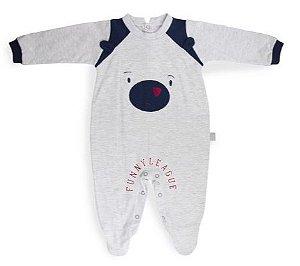 Macacão malha urso - Keko Baby
