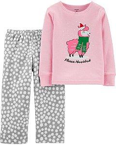 Conjunto 2 peças - pijama Lhama - Carter's