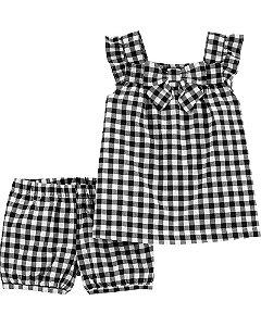 Conjunto 2 peças shorts e bata cod.001 - Carter's