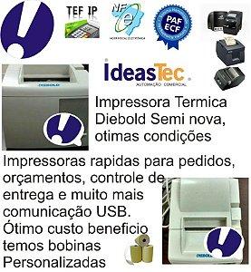 Impressora N Fiscal Diebold Termica Usada