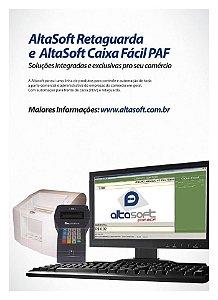 Sistema AltaSoft PAF-ECF Caixa Facil Light