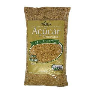 Açúcar demerara orgânica Agreco - 500g