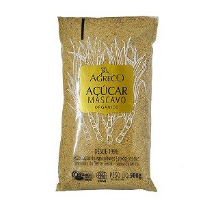 Açúcar mascavo orgânico Agreco - 500g