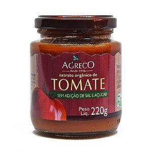 Extrato de tomate orgânico Agreco - 220g