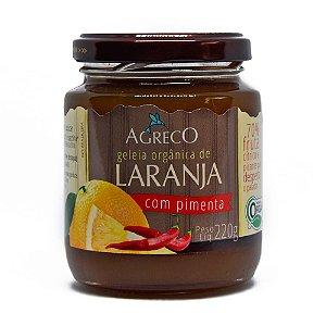 Geléia de laranja orgânica com pimenta Agreco - 220g