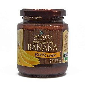 Geléia orgânica de banana Agreco - 220g