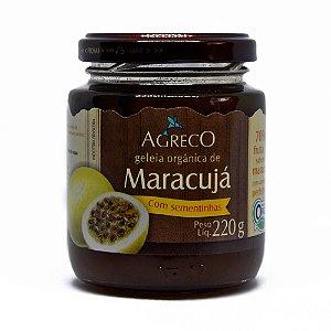 Geléia orgânica de maracujá Agreco - 220g