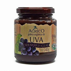Geléia orgânica de uva sem açúcar Agreco - 240g