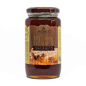 Mel de eucalipto orgânico Agreco - 450g
