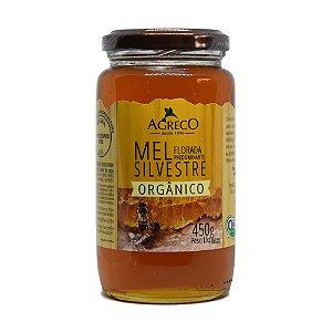 Mel silvestre orgânico Agreco - 450g
