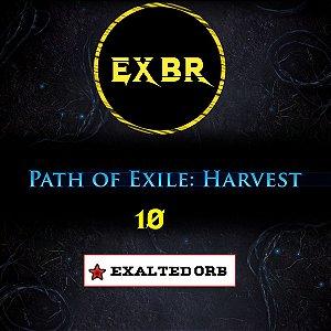 10 Exalted Orb Harvest